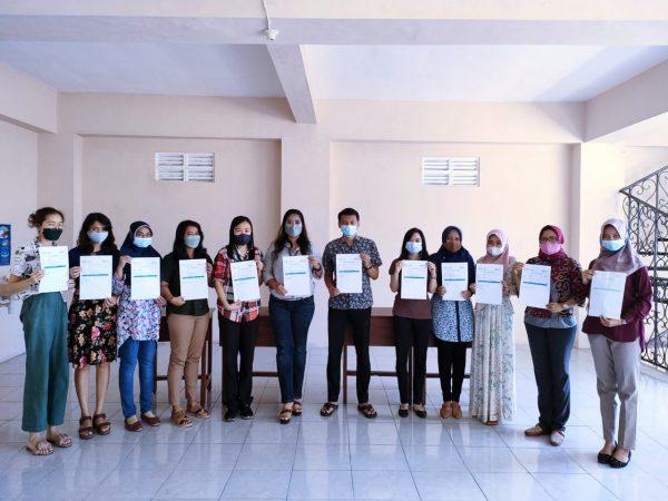 Pelaksanaan Vaksinasi Covid-19 untuk Lansia,Yayasan, Guru dan Staff SSH