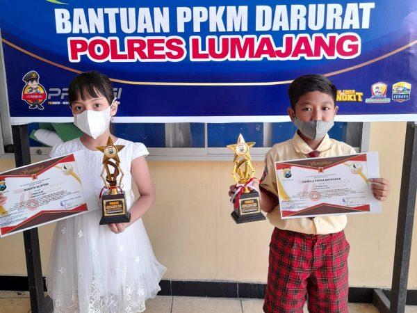 Lomba baca Puisi  Piala Kapolres Lumajang